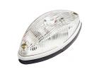 Фонарь габаритный белый(светодиодный) без кронштейна ГФ22.LED